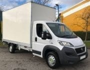 White box van Fiat Ducato