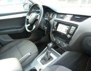 Interiér Škoda Octavia automat