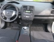 Interior Nissan Leaf EV