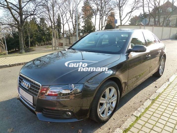 Audi A4 TDI 2.0 | Car rental Prague Autonemam