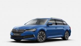Škoda Superb kombi modrý